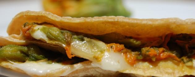 Zucchini Black Bean Quesadillas | The 30 Minute Dinner Party