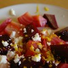Roasted Beet and Caramelized Onion Salad