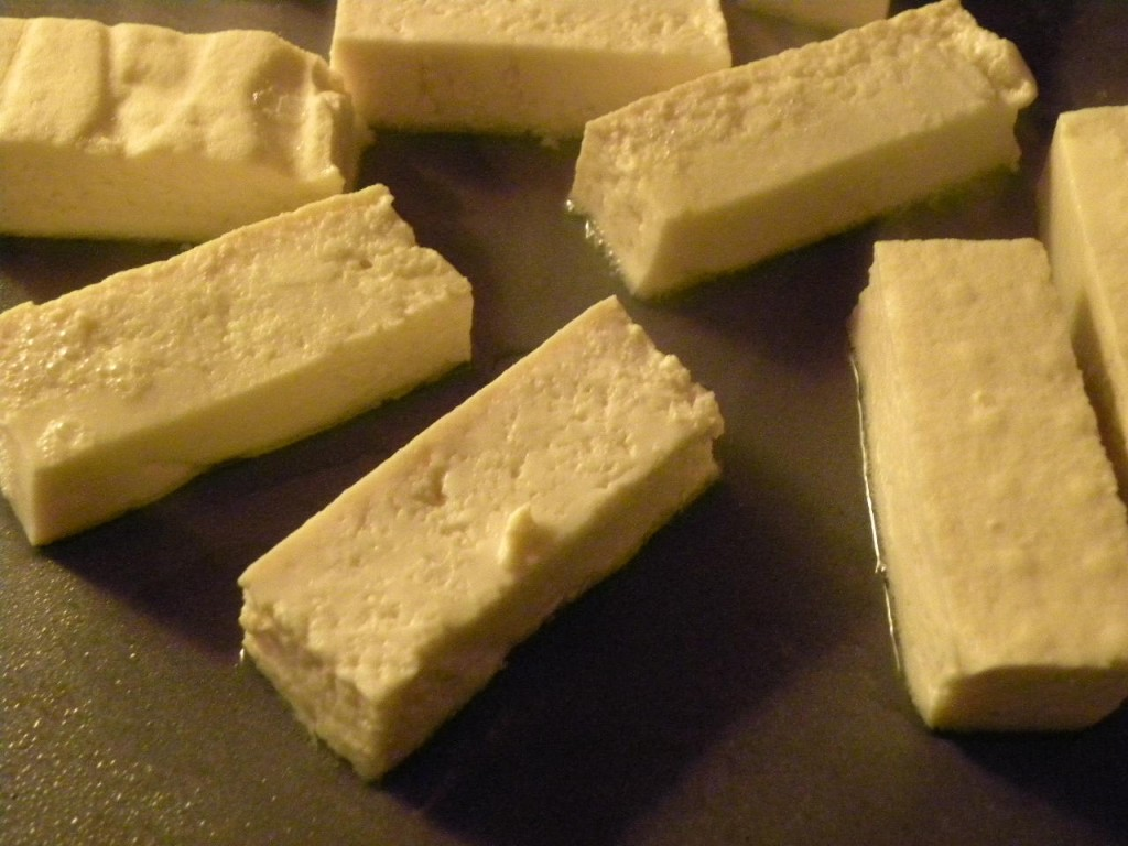 tofu blocks