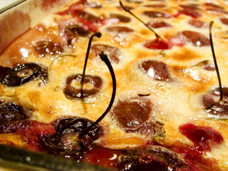Cherry Clafouti by acme from Flickr