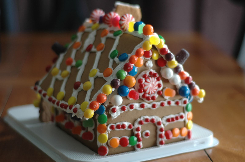 GingerBread House by Carries Stephens from Flickr